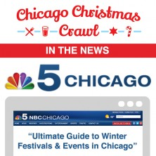 Chicago Christmas Crawl NBC Chicago