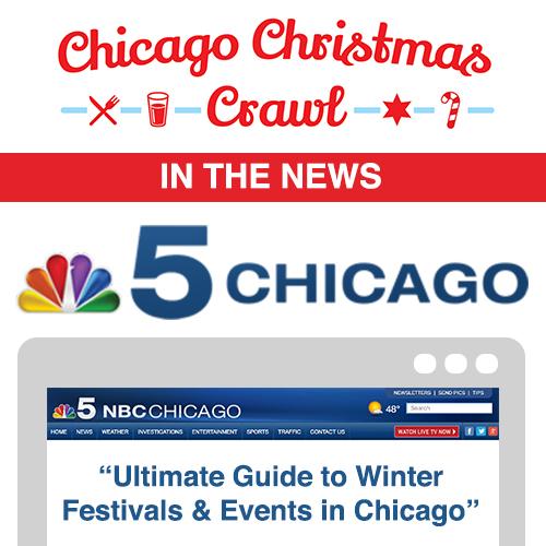 Chicago Christmas Crawl NBC Chicago